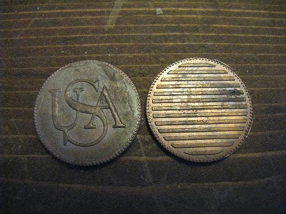 1785 USA Bar Cent Replica