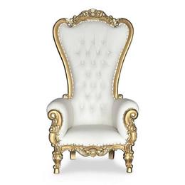 Gold High Back Throne