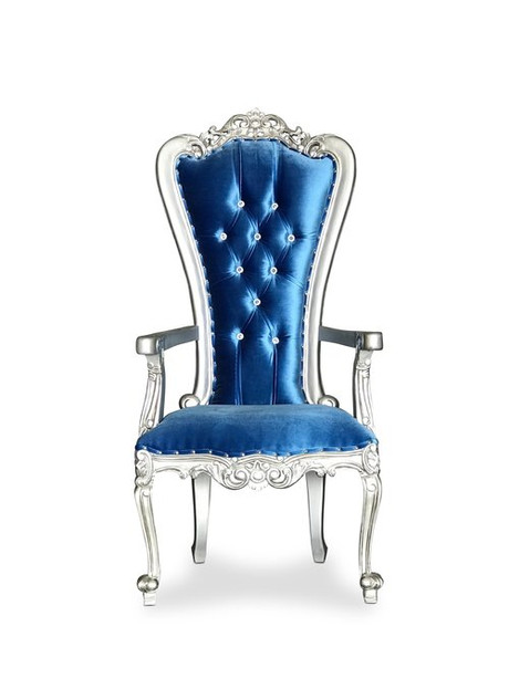 Blue & Silver Throne