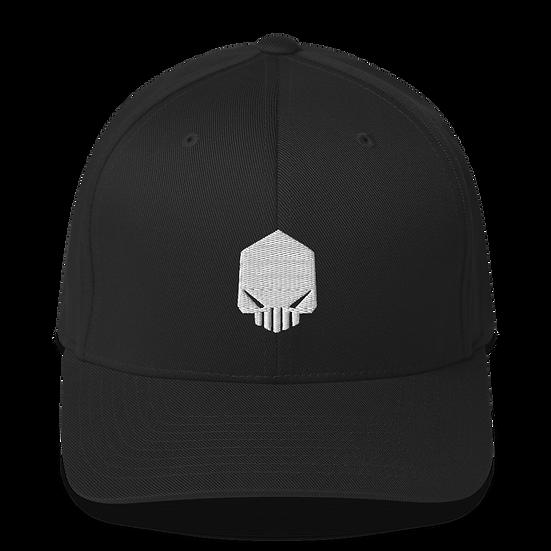 Dark Silence Flex Fit Structured Twill Cap