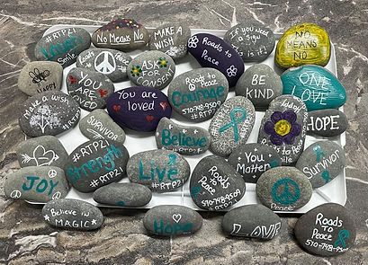 Roads-to-Peace-Awareness-rocks-rtp21-SAA