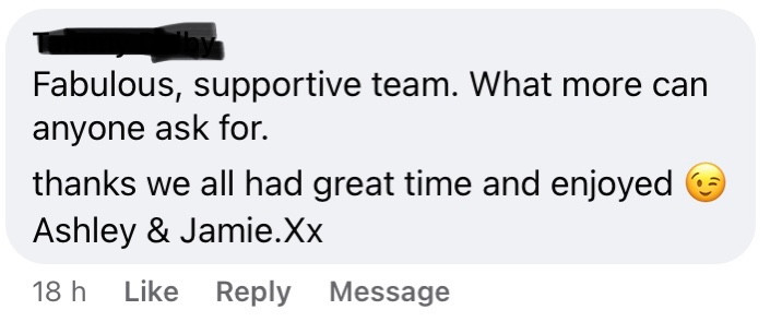 Lovely review!