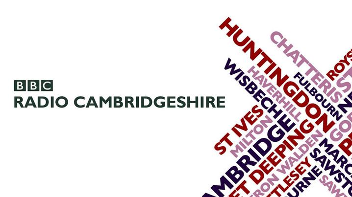 Did you know we were on BBC Radio Cambridgeshire?!