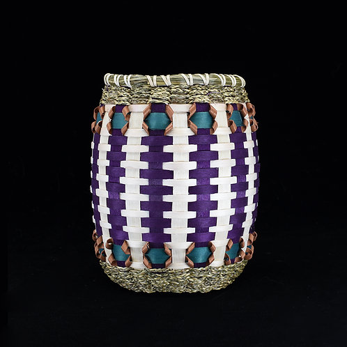 Small Barrel with Diamond Accents