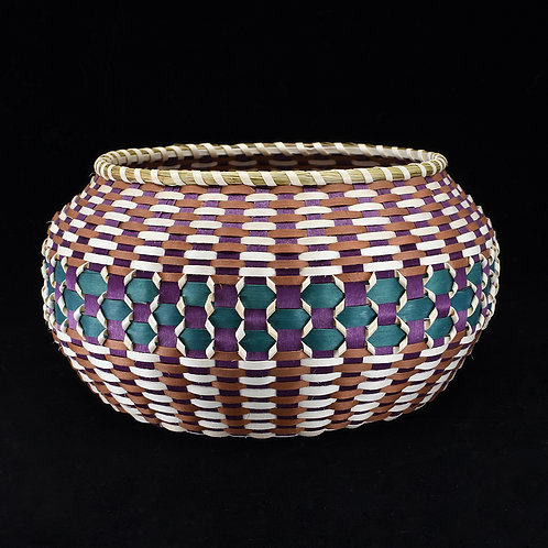 Diamond Bowl Basket