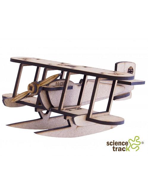 Wooden 3D Puzzle, Sea Plane