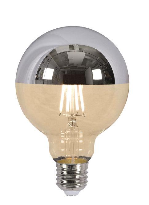 LED Globe Bulb, Mirror Top