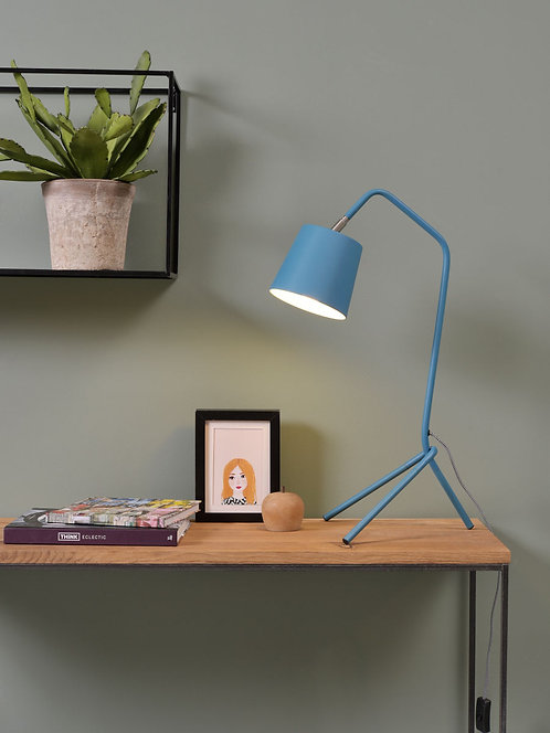 Barcelona Table Lamp, Teal