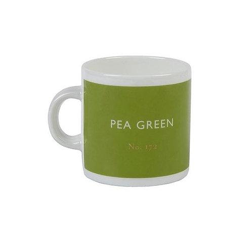 Pea Green Espresso Cups