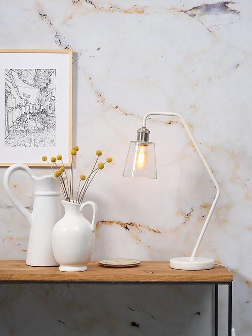 Paris Table Lamp, White