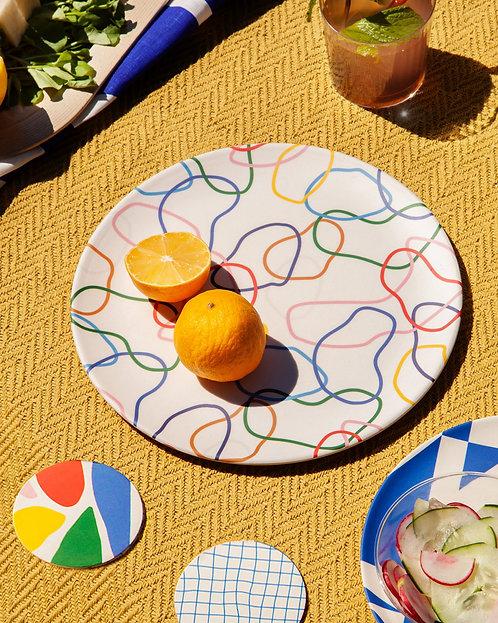 Bamboo Dinner Plates, Bamboo