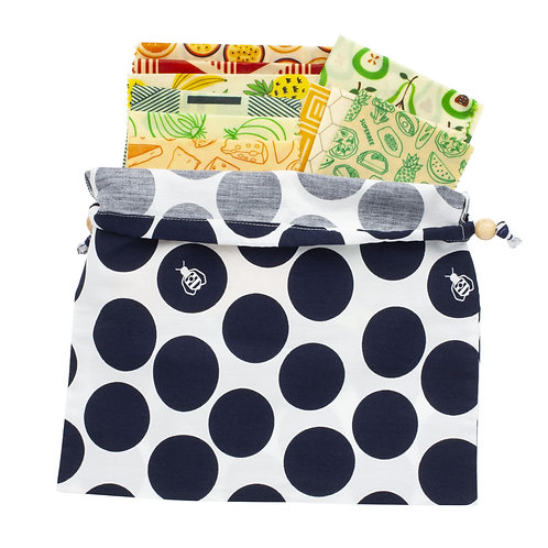 Family Beeswax Wrap Set, 10 pieces