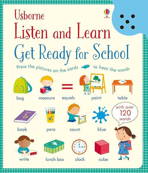 Listen & Learn, Get Ready for School
