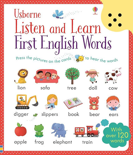 Listen & Learn, First English Words