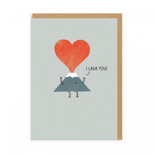 I Lava You! Greeting Card