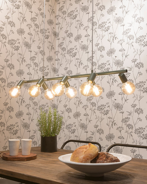 Miami HangingLamp, Grey Green
