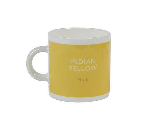Indian Yellow Espresso Cups