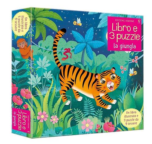 La giungla, Libro e tre puzzle