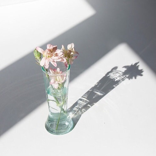 Handmade Moroccan Recycled Champagne Glass