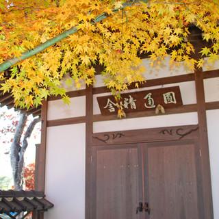 円通精舎の秋