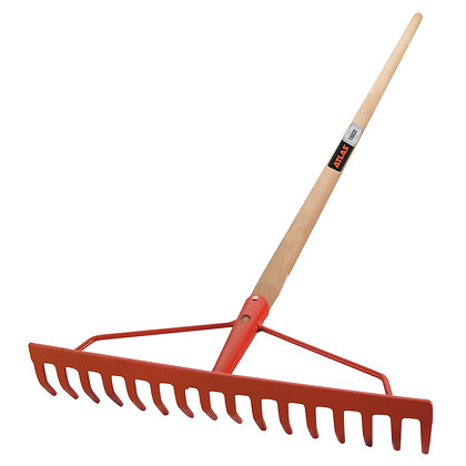 Atlas Trade 16T Braced Garden Rake