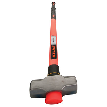 Atlas Trade 6lb Fibreglass Handle Sledge Hammer