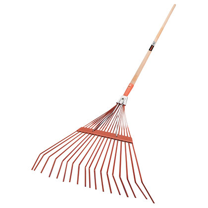 Atlas Trade Sprung Metal Leaf Rake