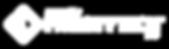Frosty Tech Logo Word Mark Pwd By (White