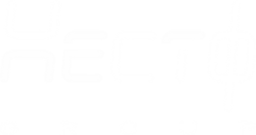 Hecto Group Logo BOLD wht on clr bkgrd (