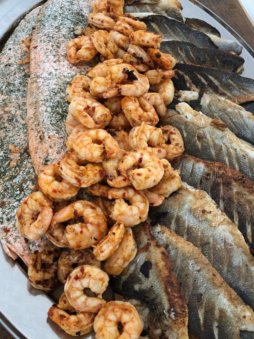 BBQ Fish & Seafood