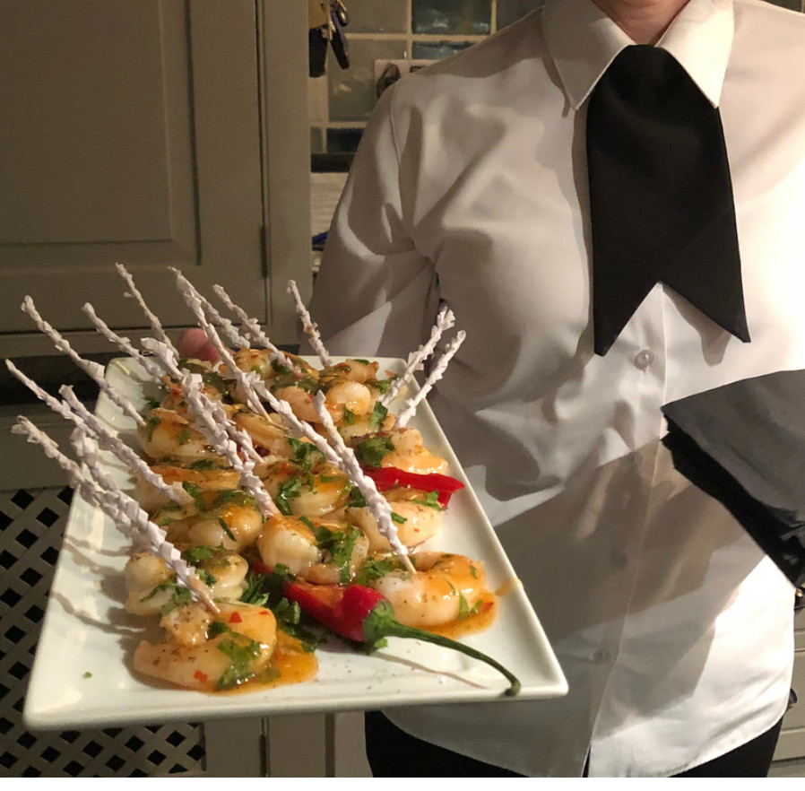 Tiger Prawn Luxury Canapes