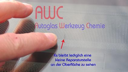 Steinschlag, Bietigheim, Rastatt Dieter Beck, AWC Autoglas, Windschutzscheibe