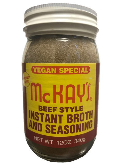 McKAY'S BEEF SEASONING - VEGAN