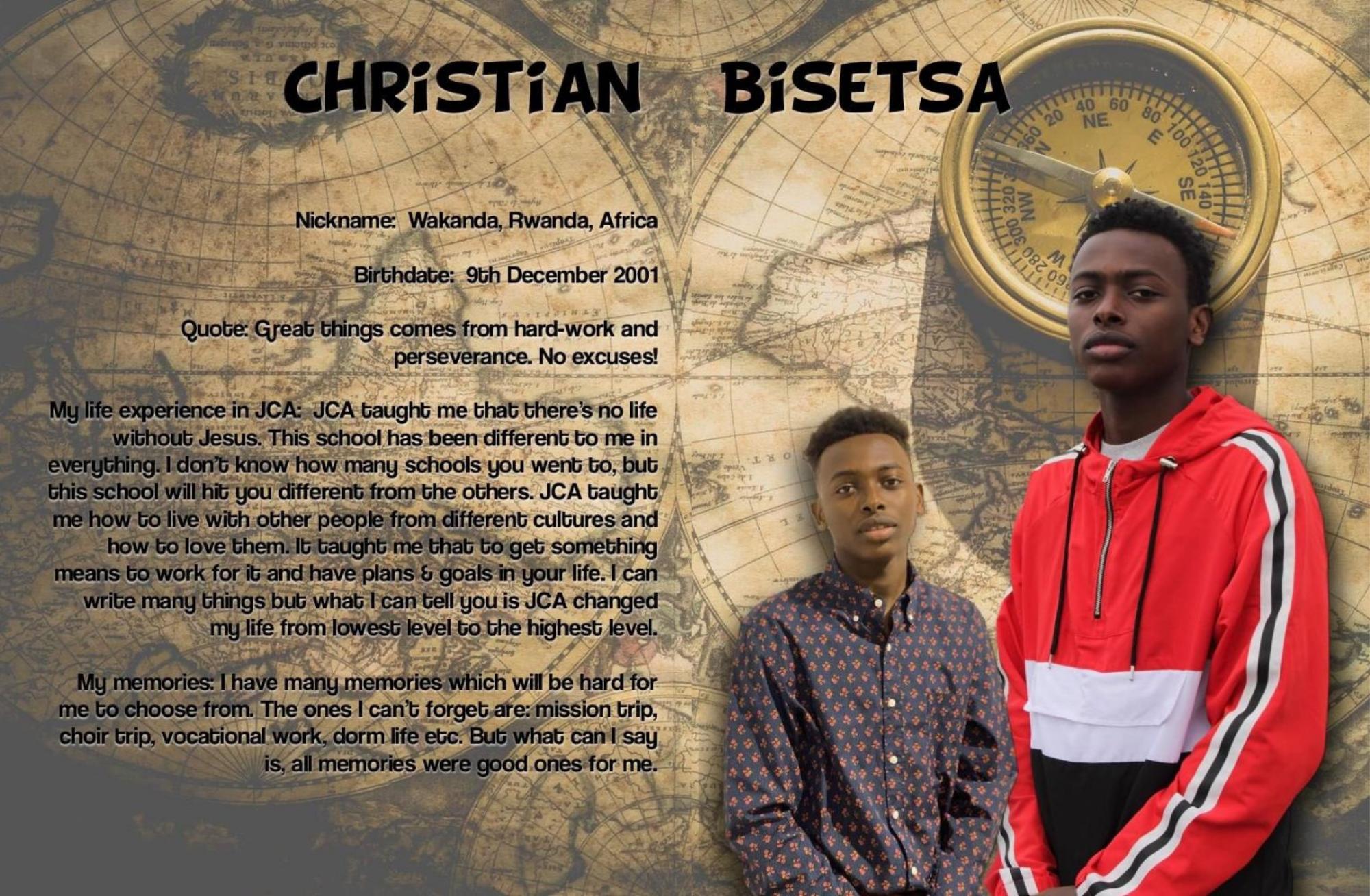 Bisetsa, Christian