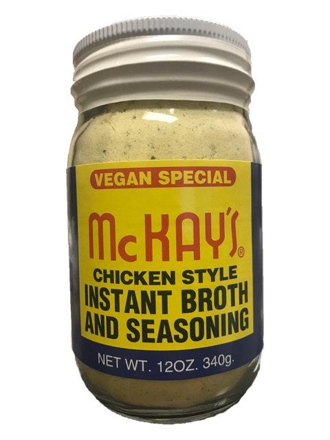 McKAY'S CHICKEN SEASONING - VEGAN