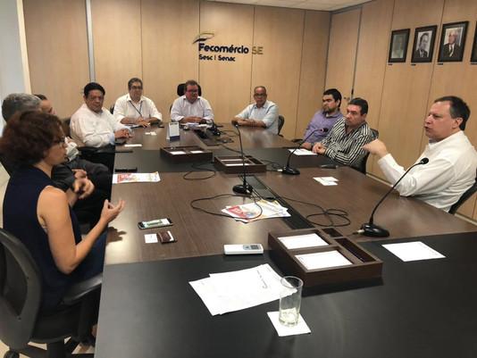 Fecomércio recebe mexicanos interessados em Sergipe