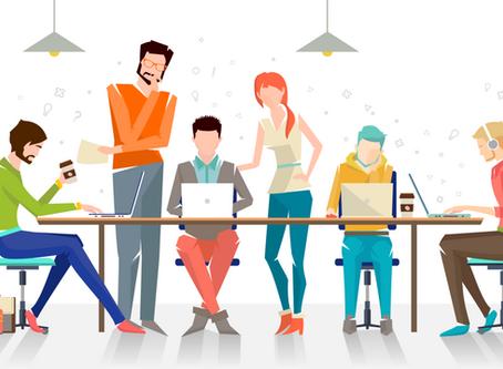 No coworking, você encontra ambientes especialmente pensados para o trabalho autônomo e muito networ