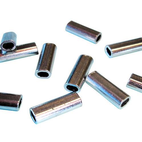 Luva Dupla para Cabo de 2.0 mm | Alumínio Oblonga