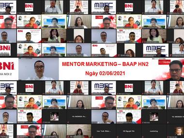 Chương trình Mentor Marketing của Hội đồng cố vấn thúc đẩy kinh doanh BAAP - HN2.