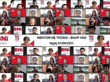 Chương trình Mentor Hệ thống của Hội đồng cố vấn thúc đẩy kinh doanh BAAP - HN2.