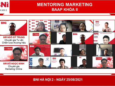 Khai giảng chương trình Mentoring Marketing - Hội đồng cố vấn thúc đẩy kinh doanh (BAAP) - Khóa II -