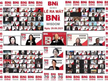 Lễ ra mắt BNI Wisdom chapter – 29/09/2021