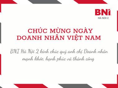 Chúc mừng ngày Doanh nhân Việt Nam 13/10