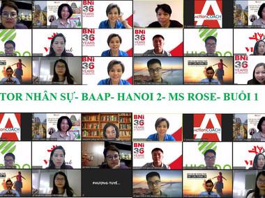 Chương trình Mentoring Nhân sự của Hội đồng cố vấn thúc đẩy kinh doanh BAAP - HN2