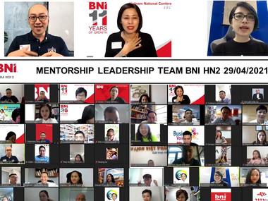 Chương trình Mentorship dành cho Ban điều hành chapter BNI HN2.