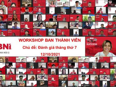 ✍️Chương trình Workshop Ban Thành Viên với chủ đề : Đánh giá tháng thứ 7