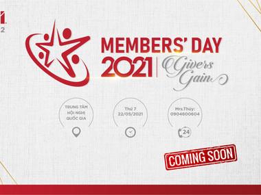 BNI Member's Day - 22/05/2021