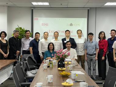 Lễ ký kết hợp tác giữa BNI Hà Nội 2 và Công ty 360Home