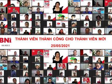 Chương trình Thành viên thành công (MSP – Member Success Program) cho thành viên mới – BNI Hanoi 2