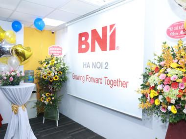 Lễ khai trương văn phòng mới BNI Hà Nội 2 - 09/12/2020